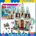 489 шт. SY371 Серии Принцесса Arendelle Замок Праздник Строительный Кирпич Рисунках Девочек Друзья Игрушки Совместимость С Lego
