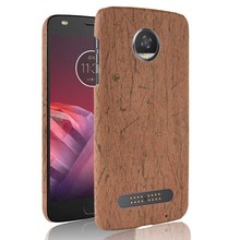 Luxury Case For Motorola Moto M X4 Z Z2 Play G5 S Plus Wood Grain Phon