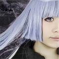 Anime Vampire Knight Maria Kurenai 100CM Light Purple Color Mixing Long Straight Styled Hair Cosplay Wig