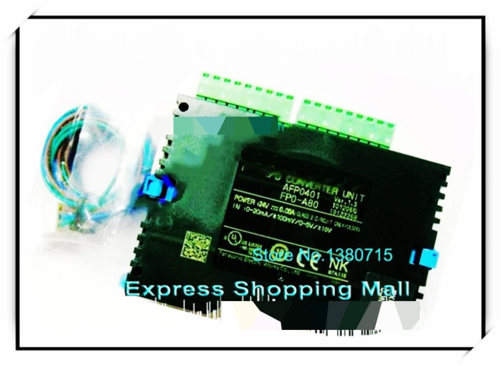 AFP0401 PLC 8 channels input FP0 AD Converter Unit 1pc used fp0 c10rm plc
