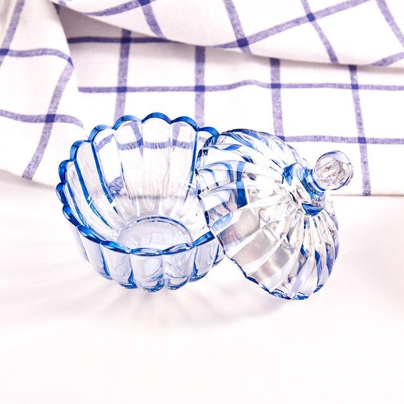 Eenvoudige mode snoep jar kleur glazen pot koffiebonen suiker blikjes - Home opslag en organisatie - Foto 6