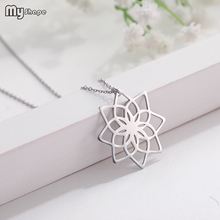 My Shape New Arrival Silver Plate Crystal Multiple Flower Pendants Chain Necklaces Jewelry for Women 2016 american new arrival hotsale regular round flower shape chain with big crystal clear rhinestone jewellery sets