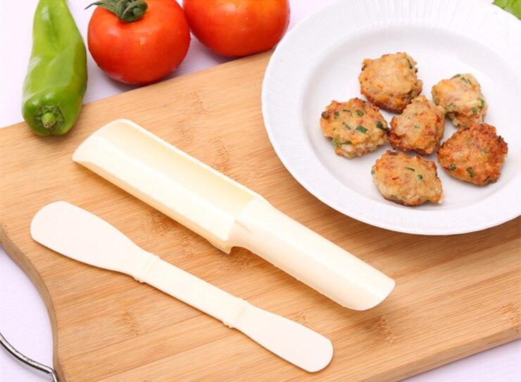 2Pcs/Set DIY Convenient Meatball Maker Useful Pattie Fish Beaf Meat Balls Burger Sets Kitchen Cooking Tools Gadgets Accessories