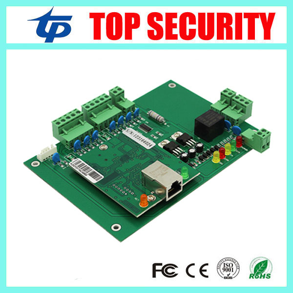 Good quality 1 year warranty TCP/IP door access control panel access control board 1 door access control system biometric fingerprint access controller tcp ip fingerprint door access control reader