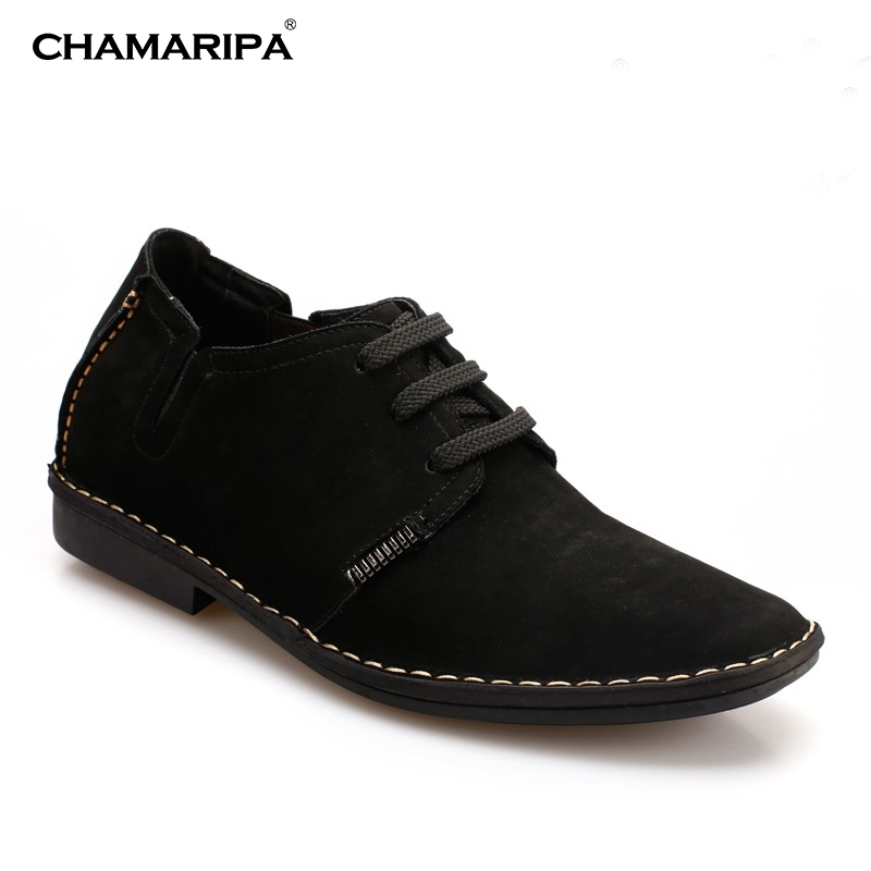 CHAMARIPA  Increase Height 6.5cm/2.56 inch Stylish Daily Shoes Elevator Shoe Gentlemen Black Casual  Mens High Heel Shoes Taller  chamaripa increase height 7cm 2 76 inch taller elevator shoes black mens leather summer sandals height increasing shoes