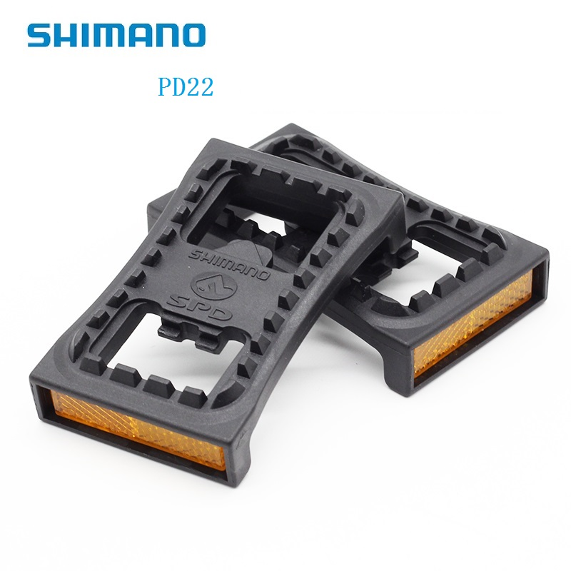 Shimano SM-PD22 SPD Flat Cleat Pedal Adapter For Clipless Pedals M520 M540 M780