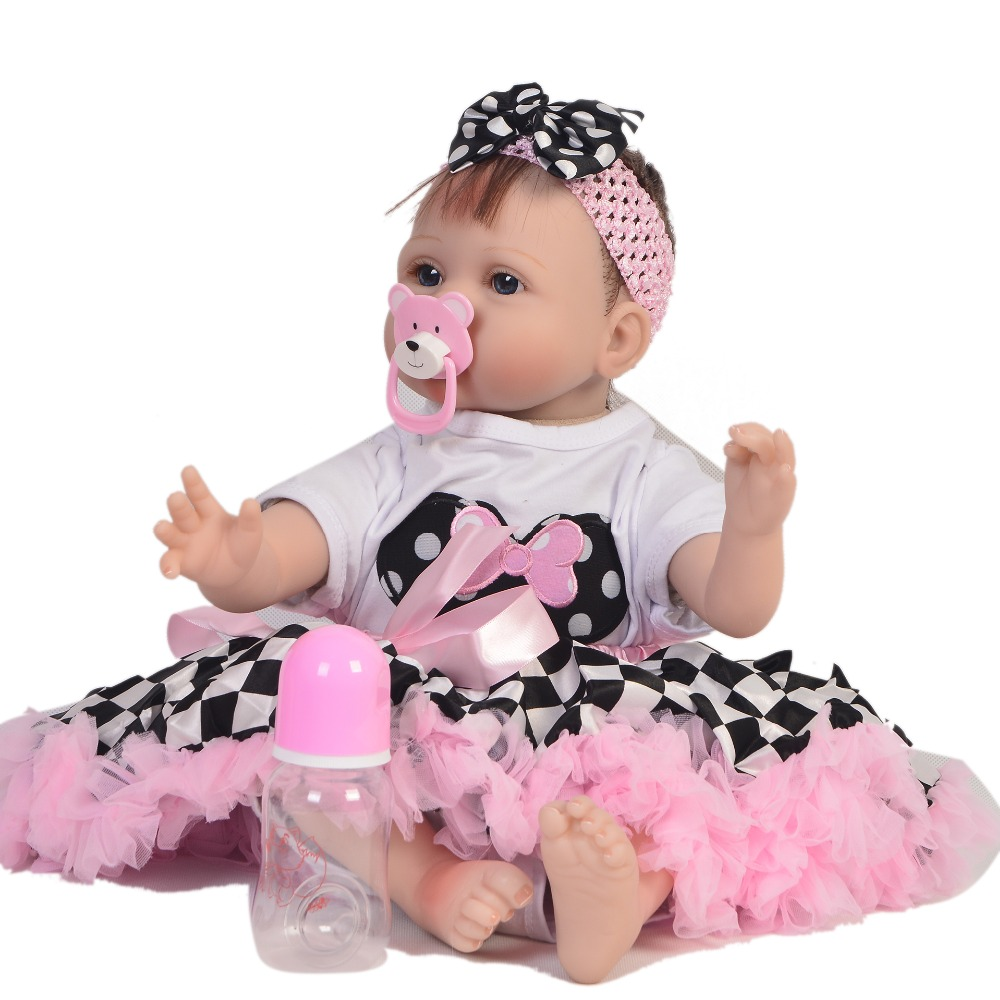 22inch 55cm soft Silicone Reborn Baby Doll Toy For Girl lifelike adorable vivid Babies Alive Bebe Boneca Toy Birthday Gift toys22inch 55cm soft Silicone Reborn Baby Doll Toy For Girl lifelike adorable vivid Babies Alive Bebe Boneca Toy Birthday Gift toys
