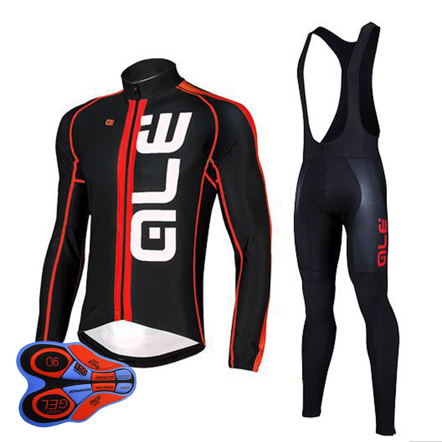 2016 Winter thermal fleece clothes cycling jersey bib pants MTB bicycle wear set ropa maillot ciclismo 2017 winter ropa ciclismo pro team ale women cycling jersey bib pants set thermal fleece bicycle clothing mtb bike clothes j0703