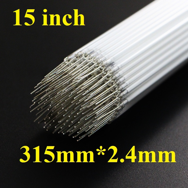 50 Pieces lot 315mm 31 5CM 2 4mm CCFL lamp tube for 15 15 inch monitor