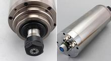 CNC Spindle 4.5kw D100mm 24000RPM water cooled spindle motor AC220V ER20 collet