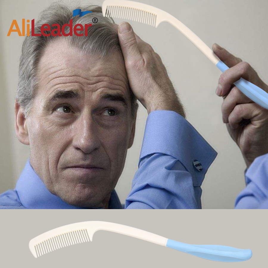New Arrival Long Reach Long Handle Soft Comb To Elderly And Hand Disabled People Inconvenient Upper