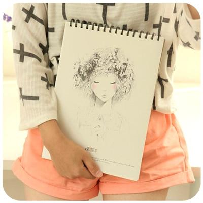 YOOFUN A4 Sketchbook Fine Art Painting Notebook 50 Sheets Graffiti Sketchbook 1PCS sketchbook фантастические существа