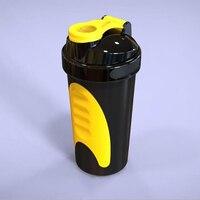600 ML בקבוק מים בקבוקי Garrafa מיקסר בלנדר חלבון מי גבינה תזונה ספורט חדר כושר שייקר אבקת חלבון כושר עבור