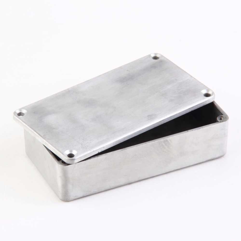 c7ac7faab6 ... TSAI 1Pc 1590B Style Aluminum Stomp Box Effects Pedal Enclosure FOR  Guitar Drop Shipping ...