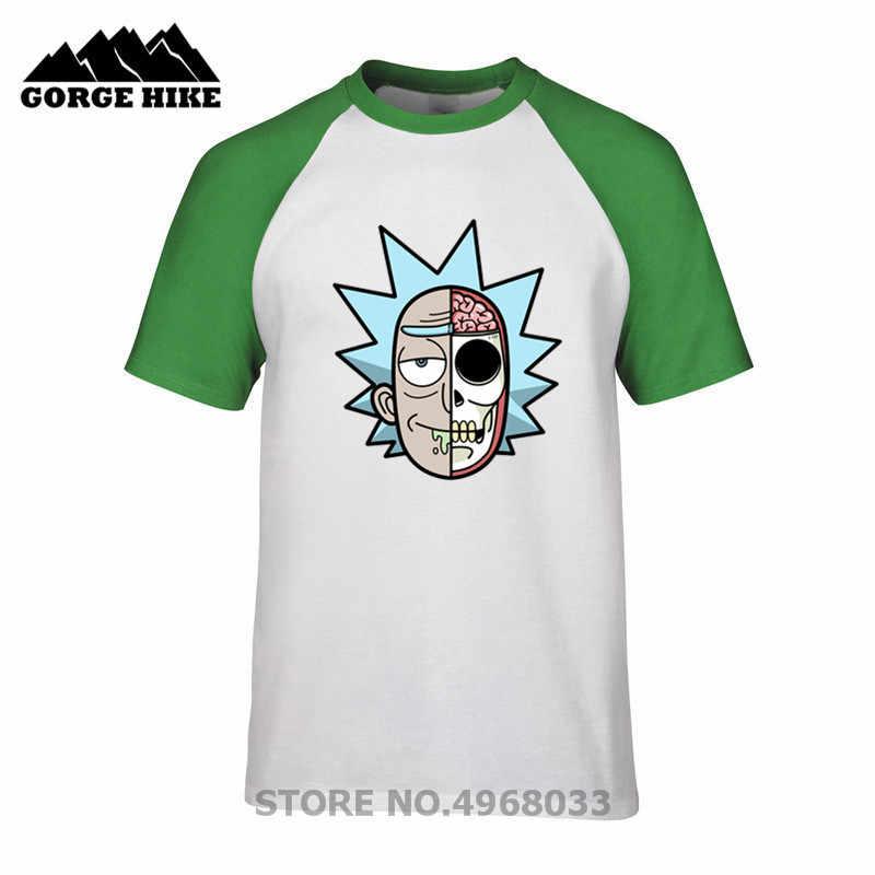 Marca Original Streetwear Dissected c-137 rick Sanchz hombres camiseta ricka y morty camisetas Punk traje Rick Sanchz camiseta