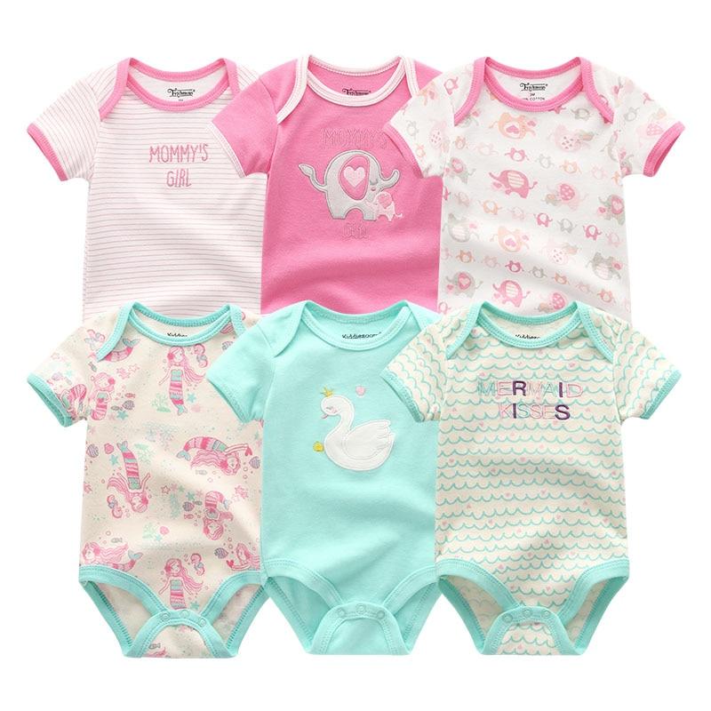 HTB1gzBsKgmTBuNjy1Xbq6yMrVXaX 2019 6PCS/Lot Unisex Unicorn Baby Boy Clothes Cotton Kids Clothes Newborn Rompers 0-12M Baby Girl Clothes Roupa de bebe