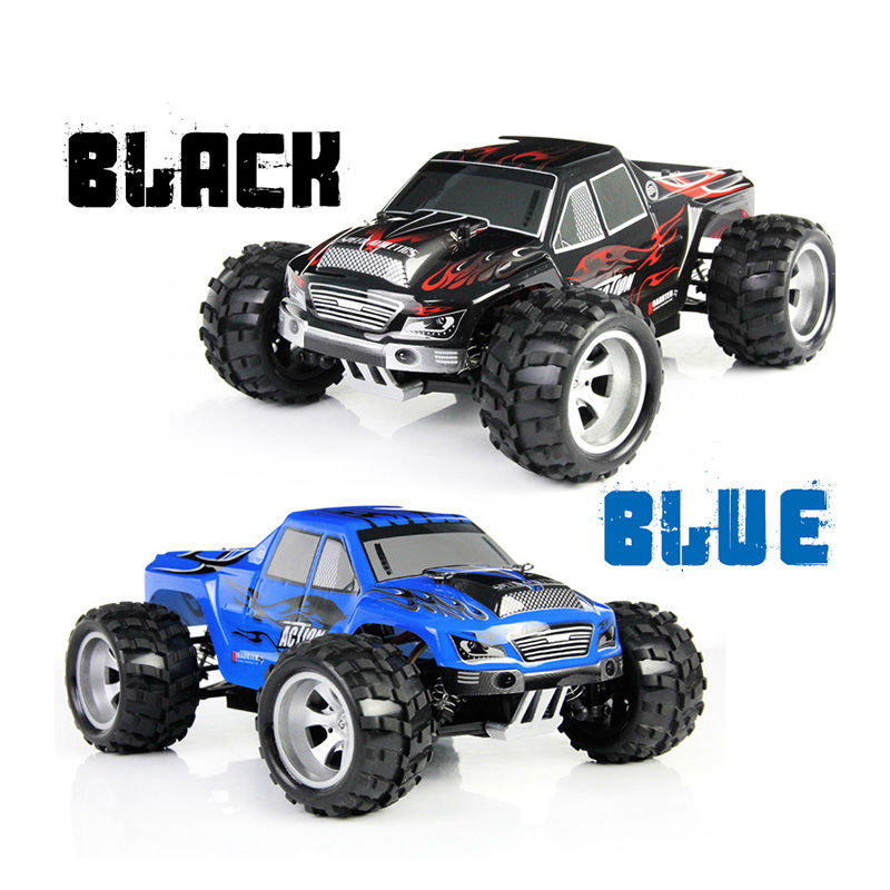 WLtoys A979 RC Car 4WD High Speed Electric Car 2.4G 1:18 Scale 4WD Monster Truck Off-road Remote Control Vehicle 50KM/H miles kimball flour bag plastic storage container