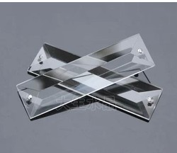 120pcs/lot,22x63mm Crystal Triangle Prism Lighting Parts pendant Crystal chandelier part ...