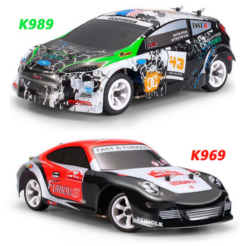 Wltoys K969/K989 1:28 RC Car Alloy Chassis 2.4G 4WD RTR 30KM/H High Speed RC Drift Car Voiture RC Remote Control Racing Car