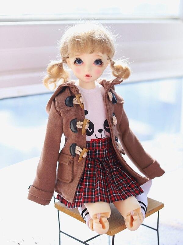 1//4 BJD MSD Minifee Boy Doll Winter Jacket Coat dollfie Luts ship US