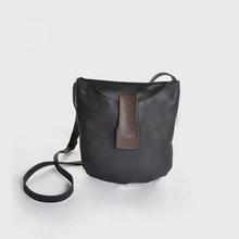 Vendange original retro sheepskin shoulder bag leisure personality handmade female messenger bag 2344