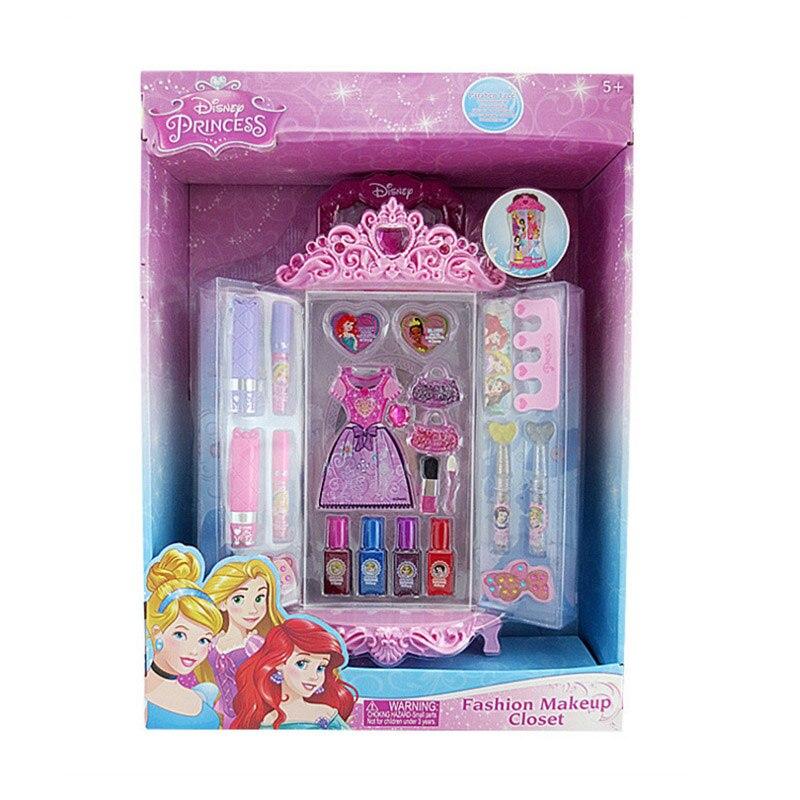Disney semblant jouer beauté mode jouets princesse belle garde-robe maquillage ensemble jouet pour enfants