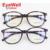 New leopard rodada frame ótico TR90 óculos elegantes para óculos de prescrição das mulheres 9913