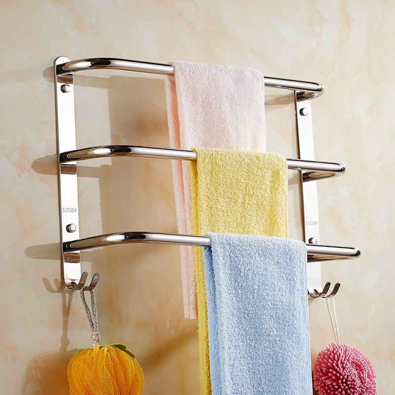Jieshalang Towel Holder 304 Stainless Steel Single Towel Bar ...