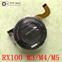 NOVO Para Sony RX100 III/IV/V Cyber shot DSC RX100 M3/M4/M5 RX100III RX100IV RX100V Unidade Lens Zoom Repair Camera Parte