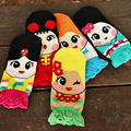 Ladies Girls Socks Women 3D Cute Cartoon Cotton Ankle Socks Princess Anna Elsa Fiolla Jasmine Mermaid Fashion Tube Sock