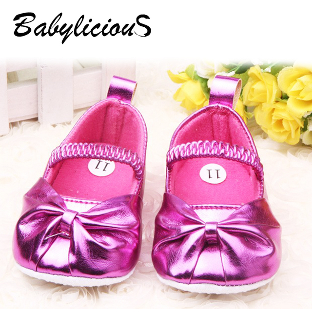 780e1d71b0a882 Factory baby girl shoes size11-13 fashion baby golden shoes soft leather  baby shoes first walker 6pair lot