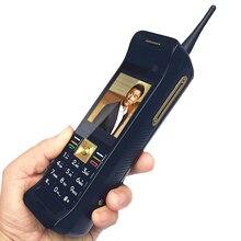 Téléphone portable classique rétro écran tactile avec antenne bon Signal batterie externe FM bluetooth bouton-poussoir téléphone