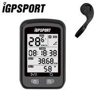 IGPSPORT Bike Cronómetro Inalámbrico GPS Bicicletas Wireless Computer IPX6 Impermeable Ciclismo Velocímetro con S60 Fuera Frente Bike Mount