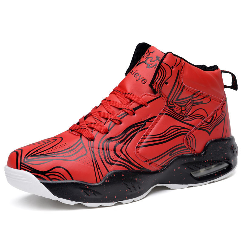 Mens Dazzle color Big size Basketball Shoes High Top Wear-resistant jordan SneakersTraining Sport Shoes Lace-up Athletic Shoes