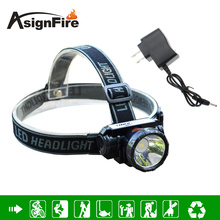 LED Headlamp Osram 5w Waterproof High Bright Built-in Lithium Battery Rechargeable Headlight + Charger 2 Modes Head Lamp