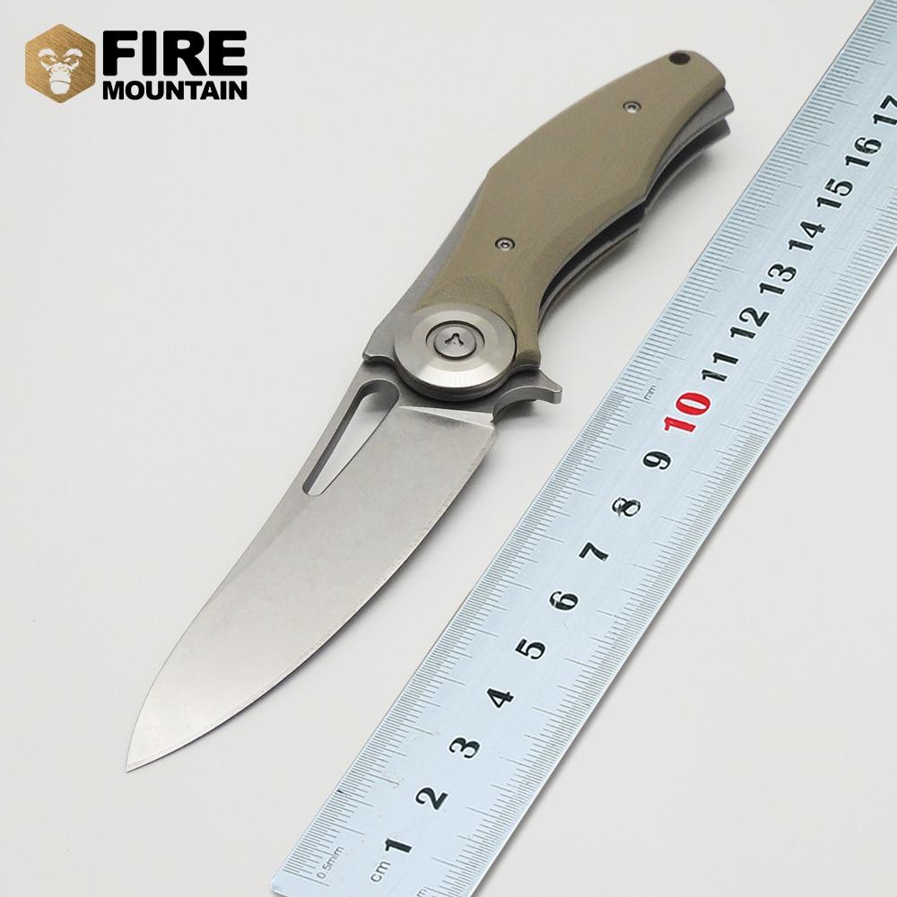 BMT Bear Dark Tictical Flipper kokkuklapitav tera nuga D2 tera G10 - Käsitööriistad - Foto 4