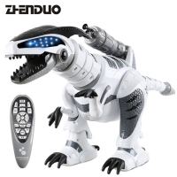 ZhenDuo Toys K9 Dinosaur Remote Control RC Can sing and dance remotely interactive toy birthday gift