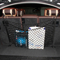 Mala do carro saco de corda Elastic Nylon Traseira Do Carro Carga Trunk Armazenamento Organizer Net com o SUV para BMW X1 X3 X4 X5 AUDI Q3 Q5 Q7