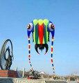 O envio gratuito de alta qualidade 32 metros quadrados trilobites suave girino hcxkite fábrica pipa nylon ripstop tecido pipa brinquedos ao ar livre