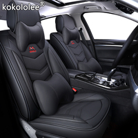 New Universal PU Leather car seat covers For kia Rio 3 4 2017 2018 Sorento 2005 2007 2011 2013 2016 2017 soul spectra styling