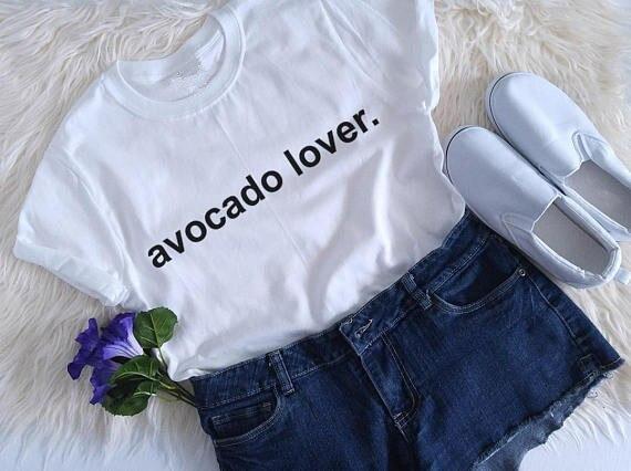 avocado lover shirt vegan tumblr shirt hipster grunge ...