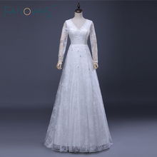 FANOVAIS Lace Bridal Wedding Dresses Sleeve A-Line Wedding
