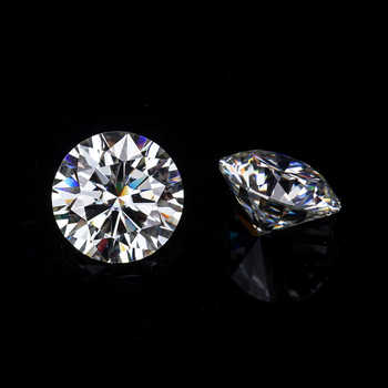 Sales Round Brilliant Cut  9mm IJ Color Lab Created Moissanites loose stone For Engagement Rings - DISCOUNT ITEM  0% OFF All Category