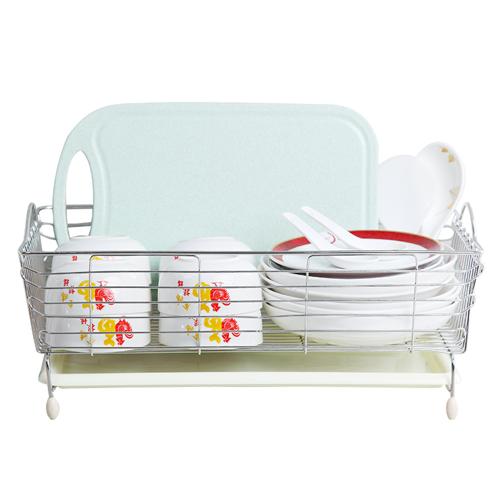 Stainless steel sink leachate basket washing basket bowl tray storage rack sink rack kitchen supplies LU5302