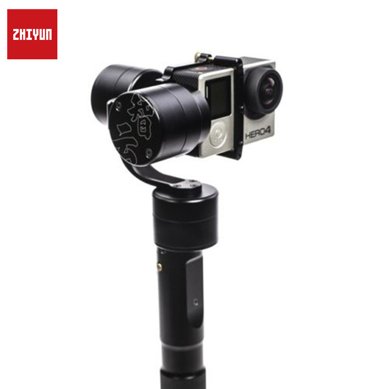 Original Zhiyun Z1 EVOLUTION 3 Axis Brushless Handheld Gimbal Stabilizer For GoPro Hero Sports Action Camera Selfie Stick Photo