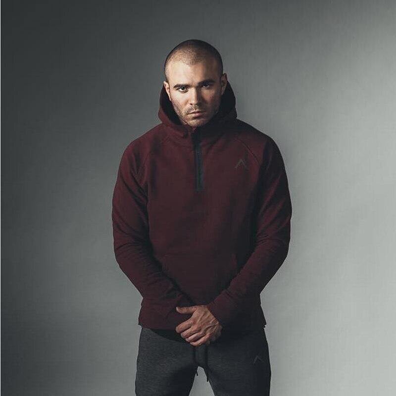 New Fashion Alpha Hoodies Male Large Size Warm Cotton Fleece Coat Men Brand Hoodies Sweatshirts Skateboard Hip Hop Street wear
