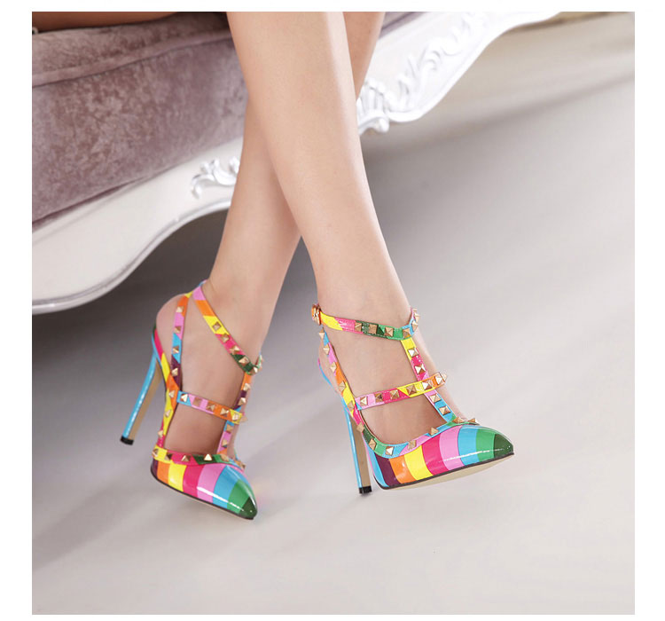 2016-Women-Fashion-Rainbow-Colour-High-Heels-Chaussure-Femme-Wedding-Shoes- Womens-Sexy-Zapatos-Mujer-Tacon.jpg 783ee5bd6165