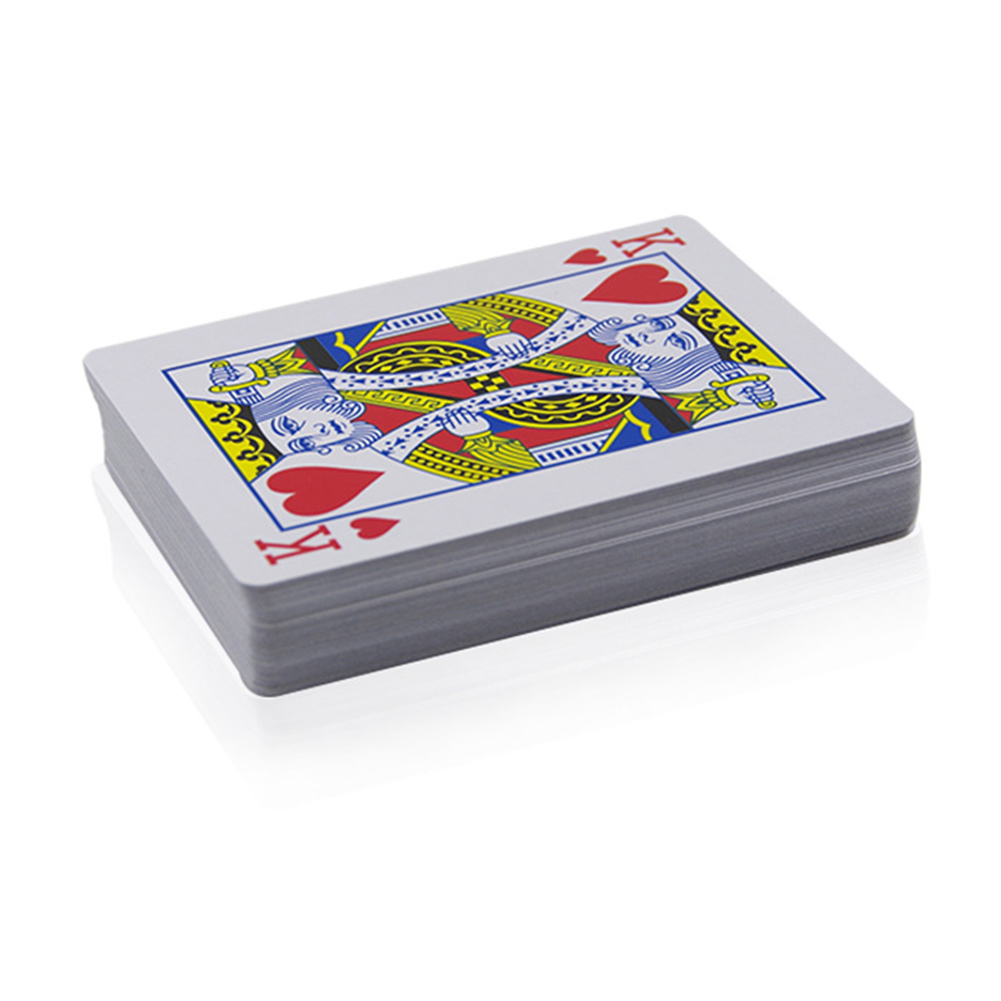 Kids Unexpected Funny Adult Trapezoid See Through Simple Magic Tricks Playing Secret Marked Poker Cards Gift Classic