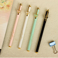 1PCS/LOT Chenguang pattern fashion bow series quality unisex metal pen black core 0.5mm