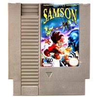 72 Pins 8 Bit Game Cartridge 8bit Game Card Little Samson USA Version High Quality